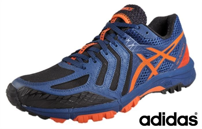 Asics Gel Fuji Attack 5 All Terrain Orange) Navy Sviluppare (nero / / Aghirt0389