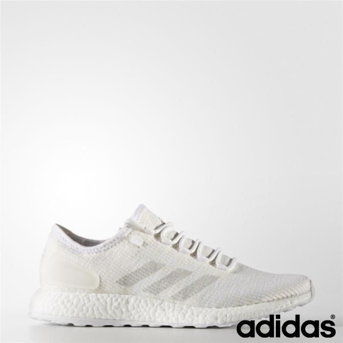 Scarpe Adidas Pure Boost Clima (running Makers White Ftw Chalk) / Gray Clear / Bcdfgkux23
