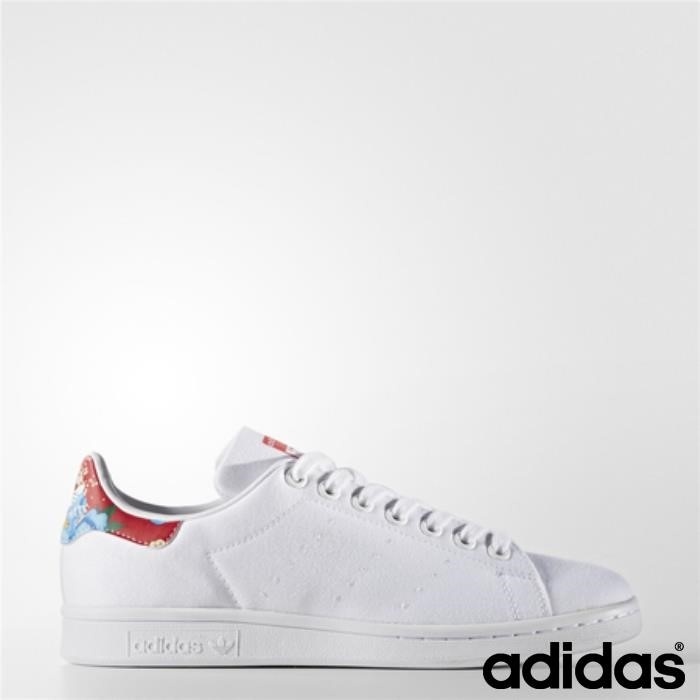 Scarpe Adidas Stan Smith (running Ftw Bianco / Running / Accessibile Ftw Rosso) Bianco Power Djuw012489