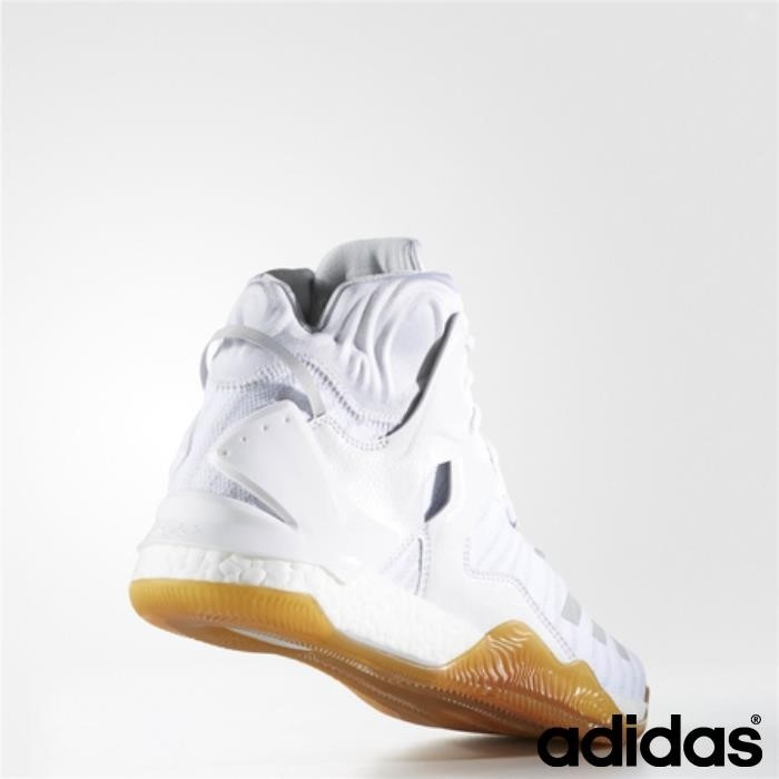 Adidas D Rose 7 Primeknit Shoes (running Giovane Bianco Ftw / Ftw Cartone) Bianco / Aekmpx2789