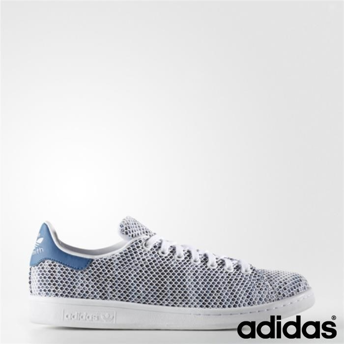 Adidas Stan Smith Scarpe Scaltro (running White Ftw / Running Ftw / Blue) Core Bianco Flqrsuxy58