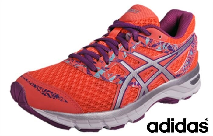 Asics Glorioso Gel Excite 4 Womens New 2017 Purple) Silver / / Coral (flash Dfnprs5679