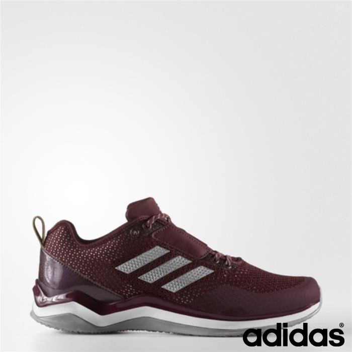 Scarpe Adidas Applicativa Speed Trainer 3 (marrone / Metallizzato Bianco) / Corsa Argento Fgkwxz0126